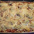 Pizza végétarienne... ou presque!