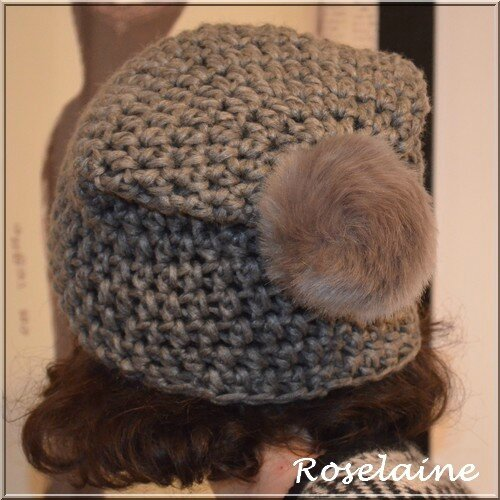 Roselaine 002 bonnet Katia