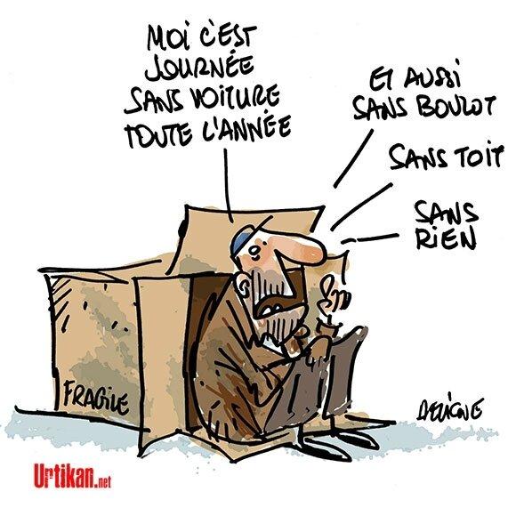 humour sdf bobo-paris-sans-voitures-deligne