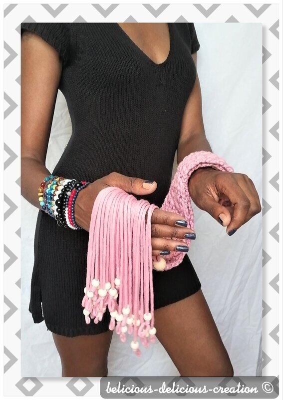pink crochet belt 2