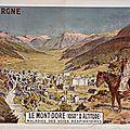 Le mont dore et ses environs : cures, promenades ...en .... 1935 et avant ..... (63 puy de dôme)