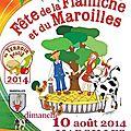 Fête de la flamiche de maroilles (59) le dimanche 10 août 2014