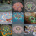 MANDALAS AROUND THE WORLD ♥