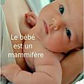 le bébé est un mammifere