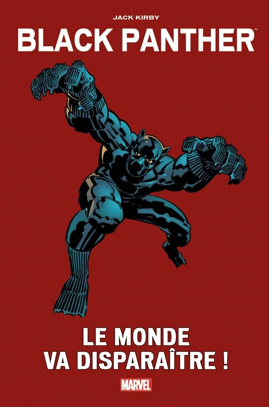 marvel vintage black panther le monde va disparaitre