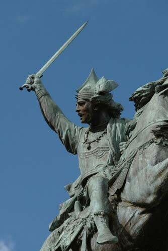 clermont-pl-jaude-vercingétorix statue