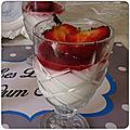 Panacota aux fraises