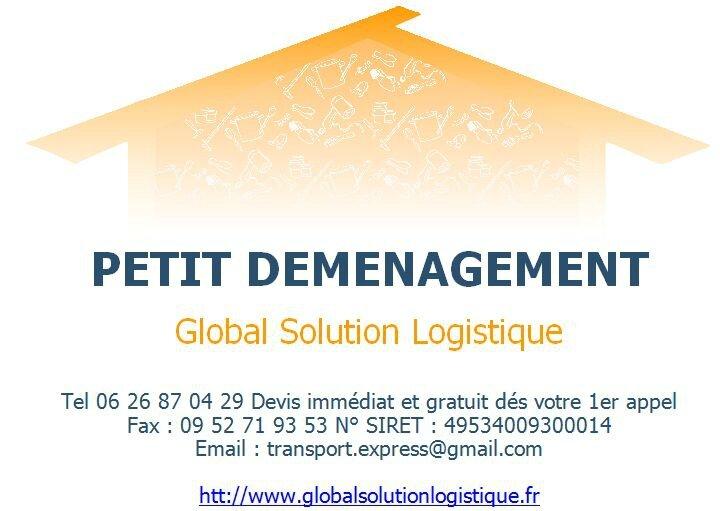 Petit déménagement Paris et IDF