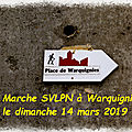 WARQUIGNIES le 14/4/2019