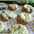 Amarettis à la pistache