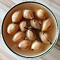 poires pochées à la vanille