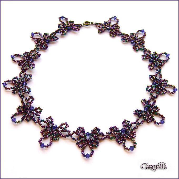 Blow Lace Necklace