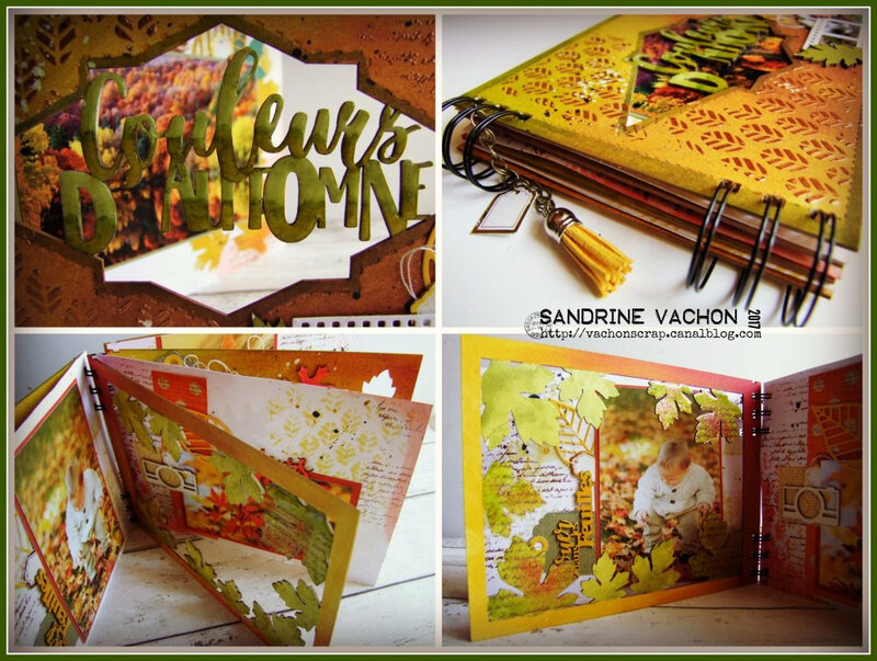 Sandrine VACHON mini album PS70 (2)