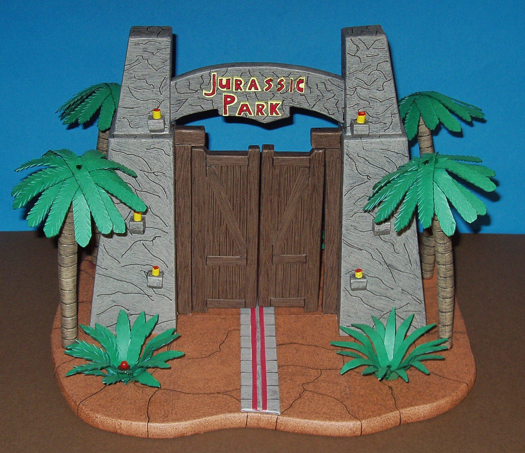 la porte de jurassic park