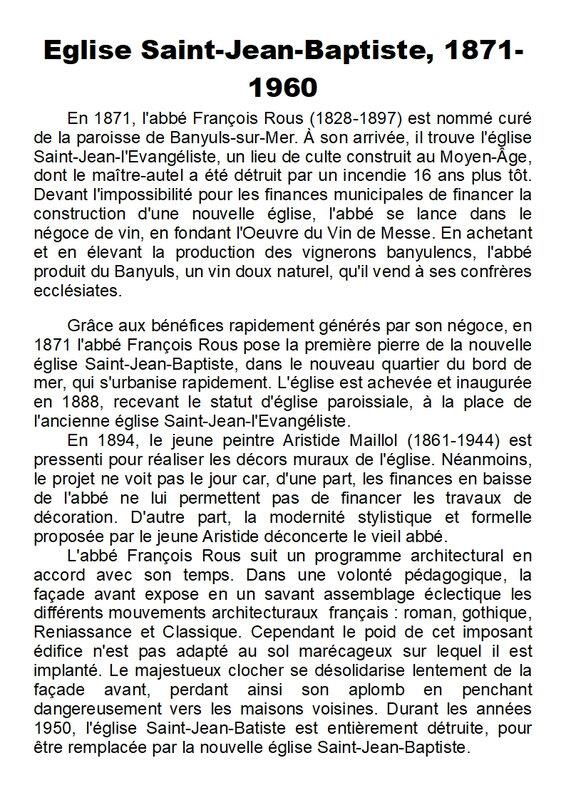 144) Eglise Saint-Jean-Baptiste 1ère version - Page 1
