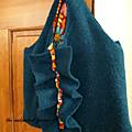 Atelier couture recyclage : je transforme mon pull en sac