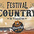 Samedi 29 et dimanche 30 juillet festival country à saint- viaud (44)