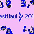 Estonie 2019 : eesti laul - résultats de la première demi-finale !