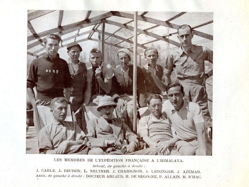 Samivel recalé à l'expédition française en Himalaya 1936... - Le blog d'Yves Ballu, Cairn