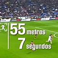 Video amazing speed cristiano ronaldo 55 meters in 7 seconds real madrid celta vigo