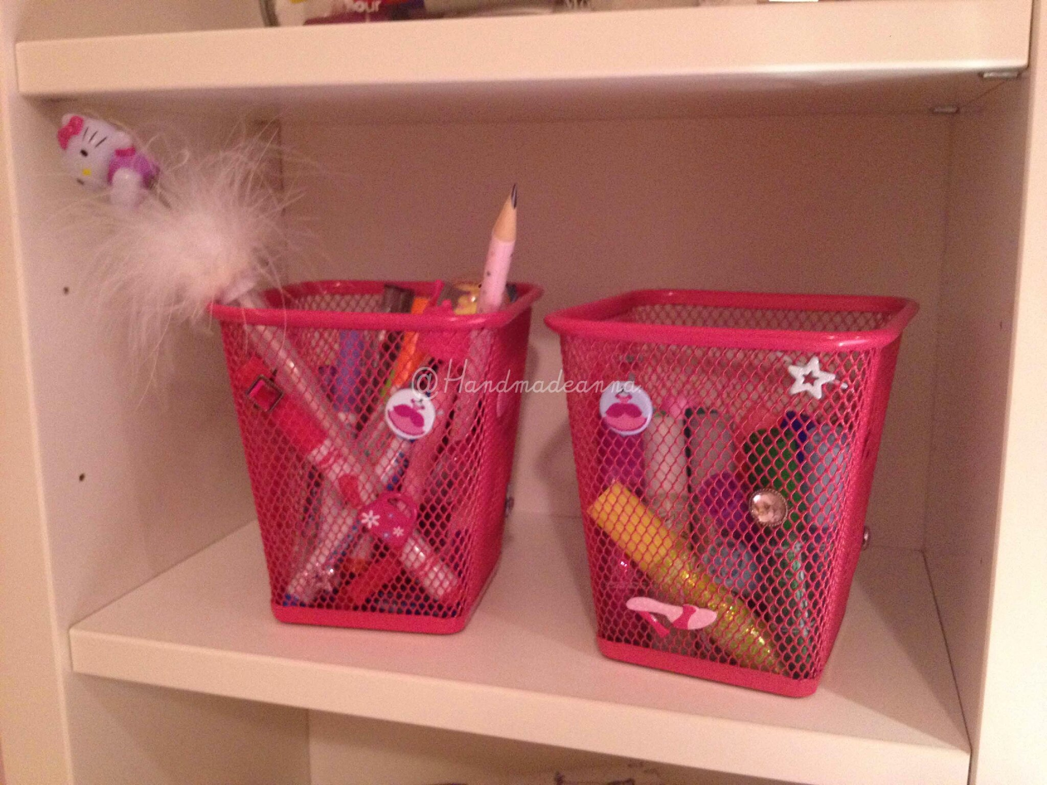 Pots boites co pour un bureau girly paris petit rat de l