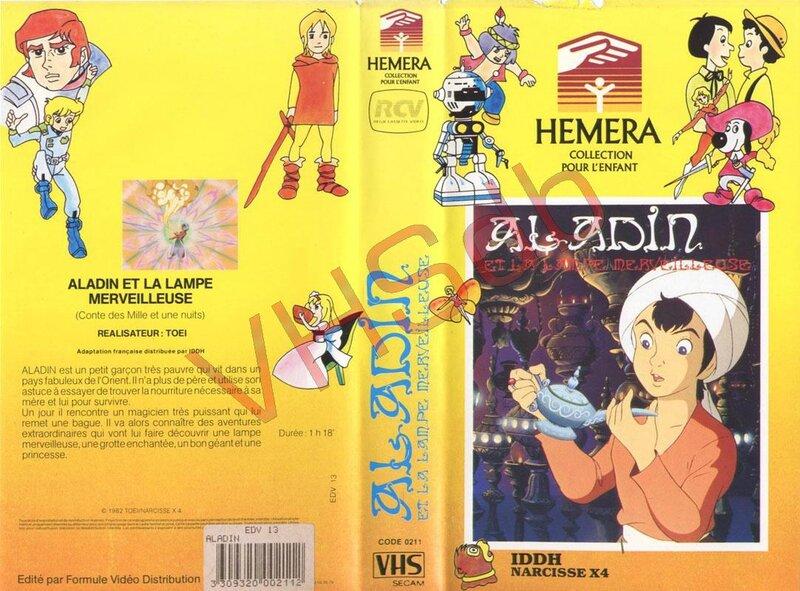 La VHS sortie par Héméra