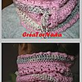 Snood crochet 1