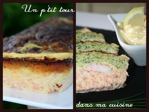 Terrine saumon courgette