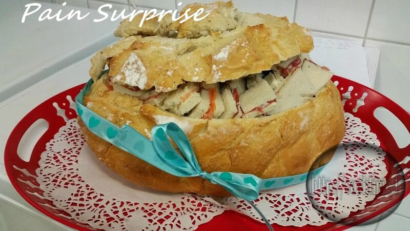 Pain surprise au thermomix 1