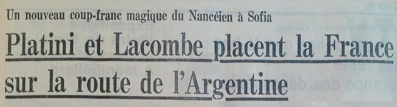 1976 10 10 France Bulgarie ER 4R