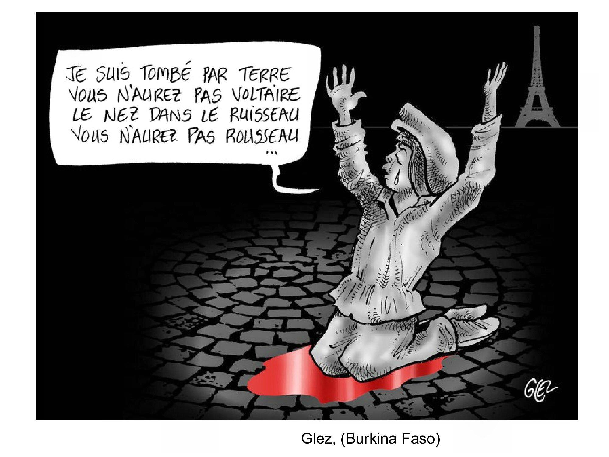 HOMMAGE des dessinateurs aux victimes des attentats de Paris 13 novembre 2015 (60)