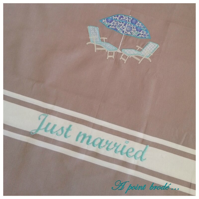 Fouta Just married_2