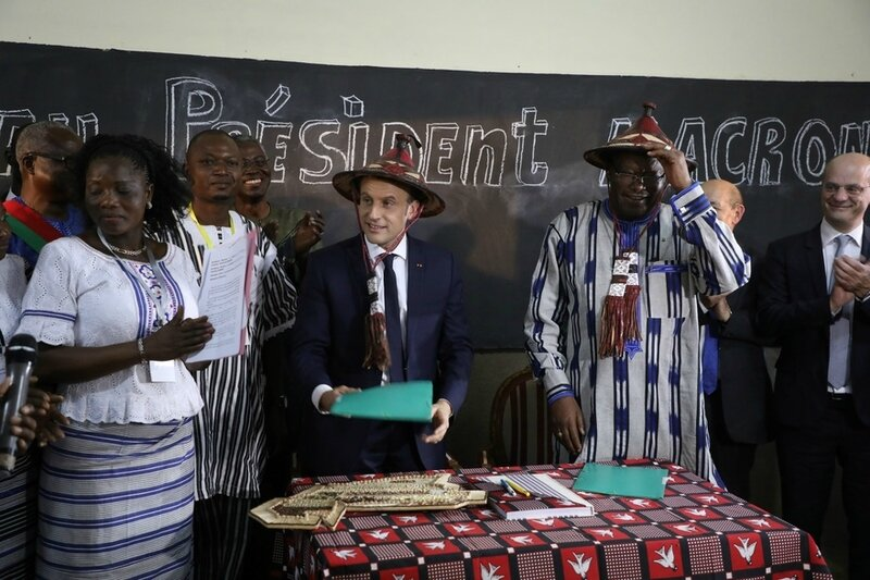 Macron Burkina-Faso