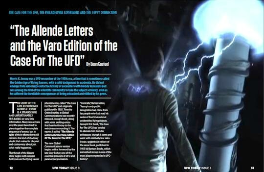 ufo today allende letters