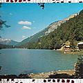 Morzine - lac de Montriond datée 1972