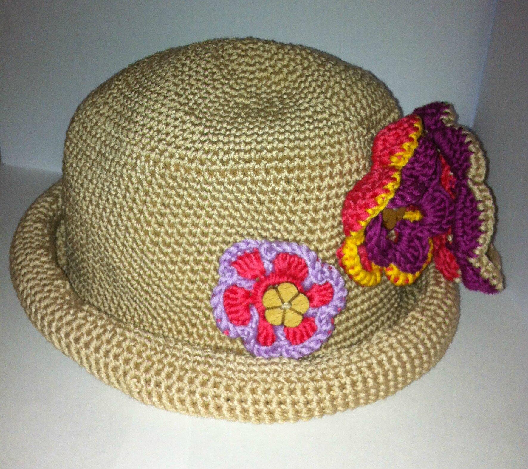 chapeau aux fleurs 2