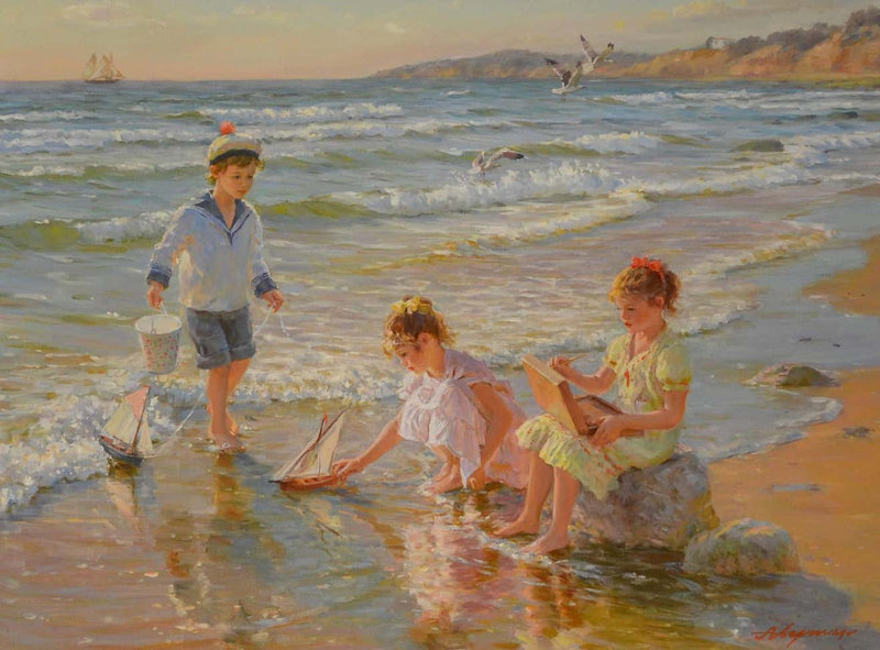Averin_Children_Playing_on_the_beach_1_cr_master