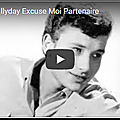 Excuse-moi partenaire - johnny hallyday (partition - sheet music)