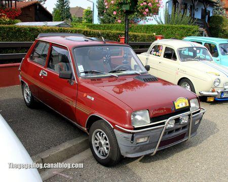 Renault 5 parisienne 2 de 1983 (31ème Bourse d'échanges de Lipsheim) 01