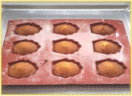 madeleines avec ou sans chocolat (Gaston Lenôtre)15