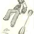 Yu-seba à terre (chose rare !)