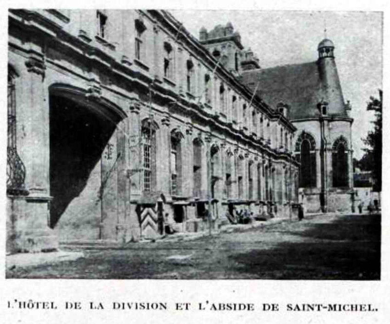 St Mihiel hotel de la division