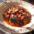 Chili con carne ( mexique )
