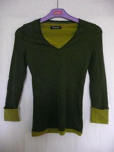 T_shirt_ML_kaki_vert_olive_Sinequanone_1