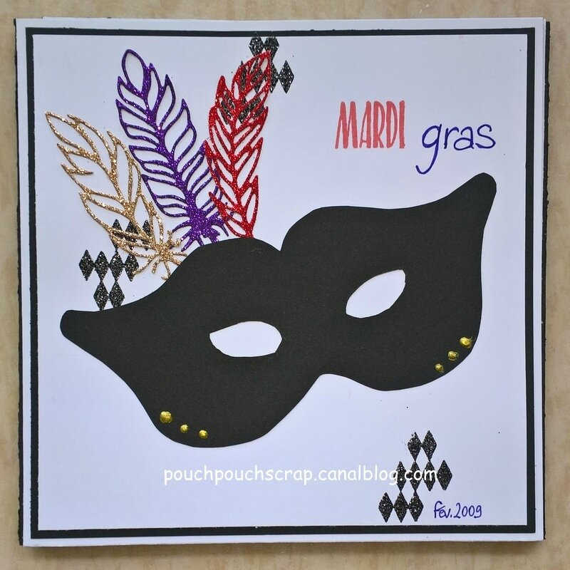 Mini Album Mardi Gras