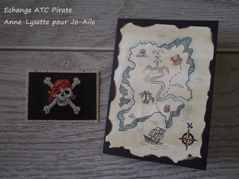ATC Pirate Anne-Lysette pour Jo-aile