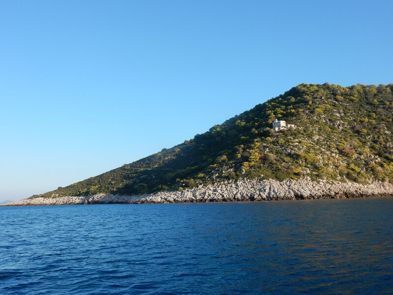 Nisis Oxia, le phare au sud de l'île 241018 2
