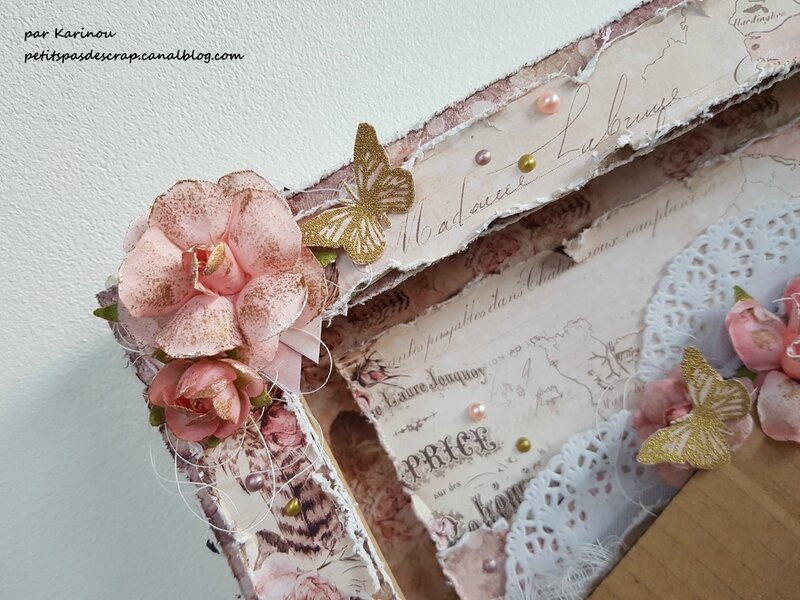 Canvas Shabby quatre