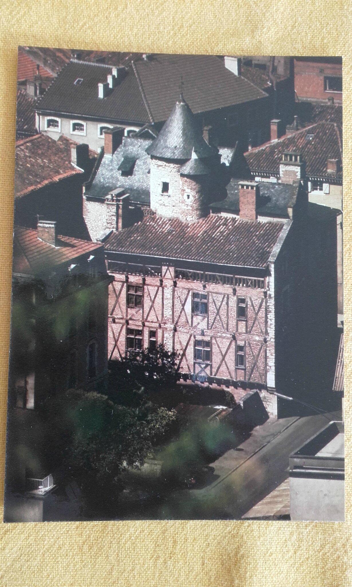 Cahors - maison de Roaldès ou maison Henri IV
