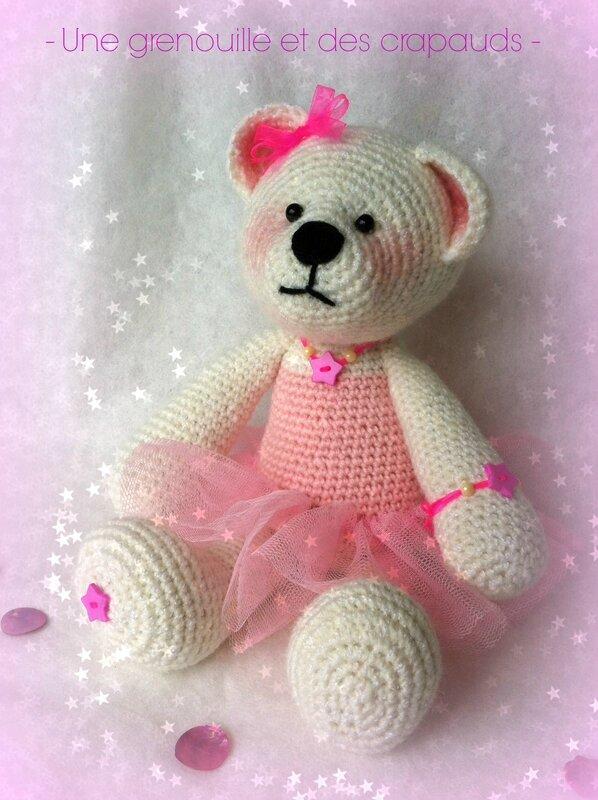 ourson ballerine crochet 1